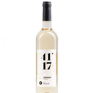 Vi Blanc Coordenades 41º 17' Vi Jove Celler Blanch 0,75 l.