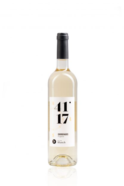 Vi Blanc Coordenades 41º 17' Jove Celler Blanch 0,75 l.