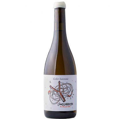 Vi Blanc Incorrecte de Celler Sanromà Jove Celler Sanromà 0,75 l.