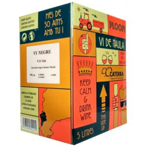 Vi Negre Caterra Negre - Box 5 l. 2019 Caterra 5 l.