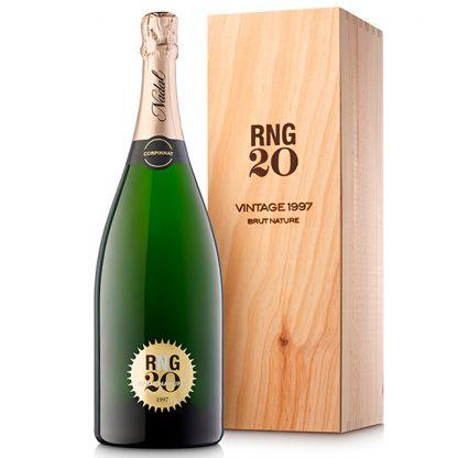 Vi Escumós de Qualitat NADAL RNG20 Brut Nature 1997 MAGNUM Corpinnat Escumós de Qualitat Anyada 1997 Nadal Wines 1,5 l.