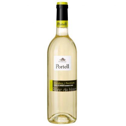 Vi Blanc Portell Blanc de Blancs Vi Jove Vinícola de Sarral 0,75 l