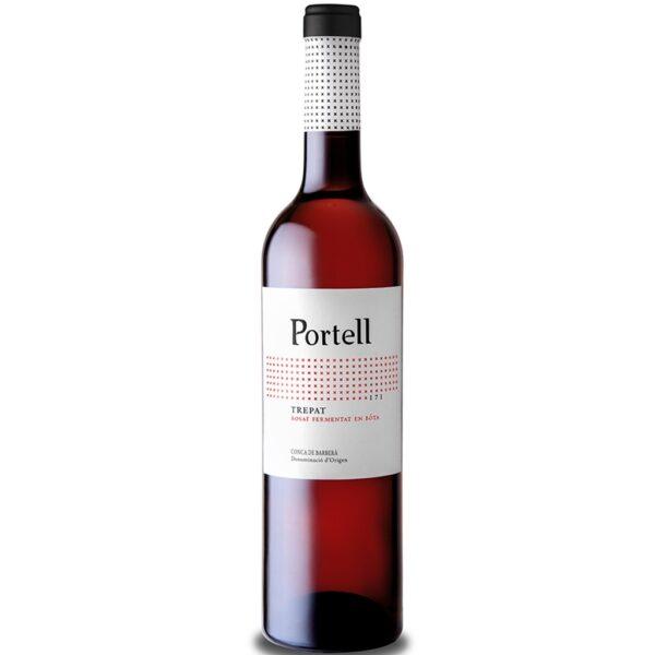Vi Rosat Portell Trepat Criança 2018 Vinícola de Sarral 0,75 l.