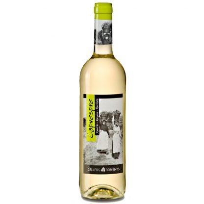 Vi Blanc Capvespre Blanc Jove 2018 Cellers Domenys 0,75 l.