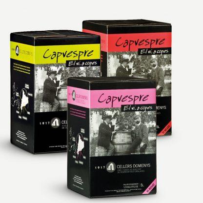 Vi Blanc Capvespre Blanc - Box 5 l. Jove 2019 Cellers Domenys 5 l.