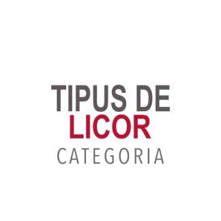 Tipus de Licors