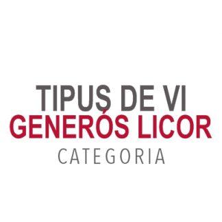 Tipus de Vi Generós Licor