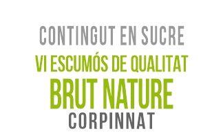 13 Vi Escumós de Qualitat brut nature - Corpinnat